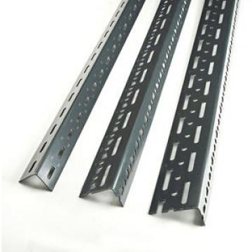 Multi-Purpose Equal Steel Slotted Angle/Powder Coated Slotted Angle/38mmx38mmx1.8mm*2.4m/3.0m 1.0kg-3.5kg Steel Slotted Angle Manufacturer