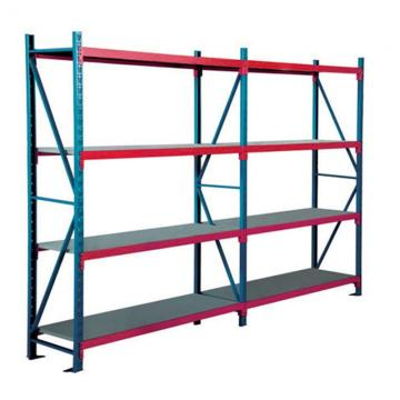 Warehouse Industrial Storage Steel Pallet Carton Gravity Flow Rollers Rack