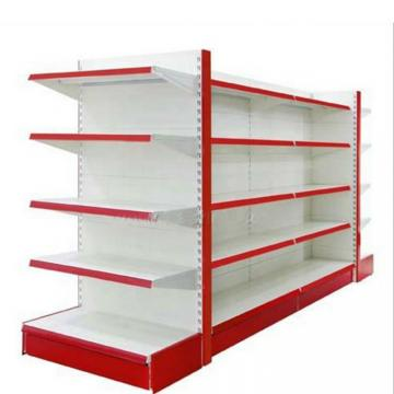 Fashionable Display Shelving Units with Light on Top