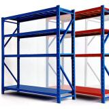 "Flat Storage Shelf Restaurant Food Storage Wire Rack Shelving Unit (42"" W X 14"" D)"